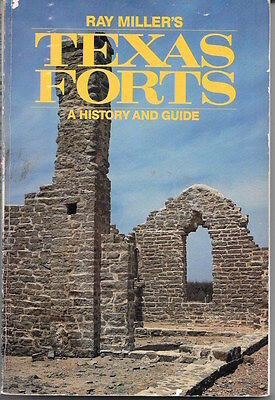 3 Texas History books, Forts, Civil War and Frontier tales, cheap