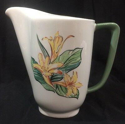 Taylor Smith Walter Teague Conversation  Pitcher-64 oz Yellow Flowers