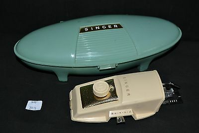 ThriftCHI ~ Vintage Singer Buttonholer Machine w Some Attachments