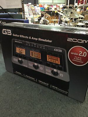 Zoom G3 Electric Guitar Multi-Effects Pedal