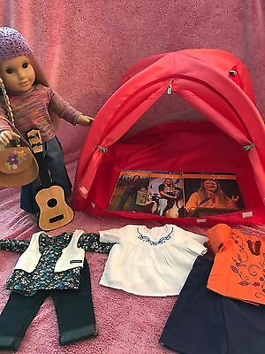 American Girl Julie Lot American Girl Tent And Much More