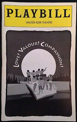 Love! Valour! Compassion! Playbill March 1995 Nathan Lane