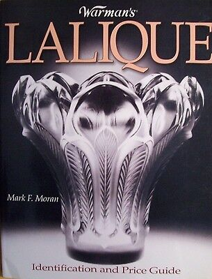Vintage Lalique Glass Price Guide Collector's Book