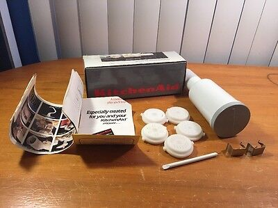 Kitchenaid Pasta Maker Plates (Fits Food Grinder Attachment) Nib
