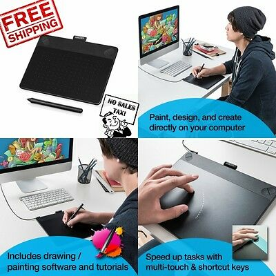 Digital Painting Tablet Art Pen Touch Graphics Drawing Painting Tablet Wacom New