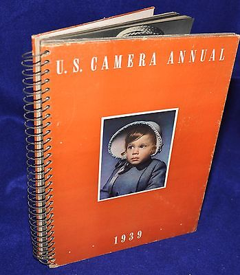 U.S.Camera Annual,1939,Spiral Bound,1st edition,Edward Steichen