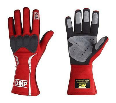 Gants pilote -Mistral- Rouge - Taille S
