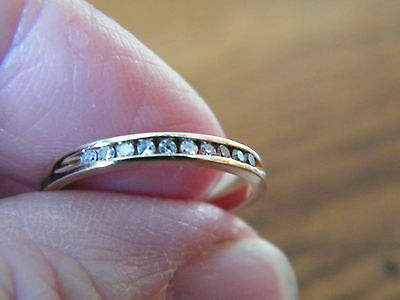 Wedding Anniversary Stacking Ring - Reduced