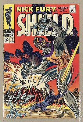 Nick Fury Agent of SHIELD (1968 1st Series) #2 VG 4.0