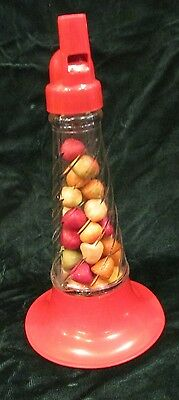 1940s Candy Container Glass All Original With Candy Millstein Jeannette