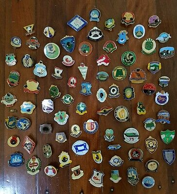 80 Collectable  Bowls Club Badges