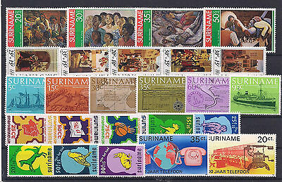 Excellent Range of Suriname Very Fine MNH 2 x Scans
