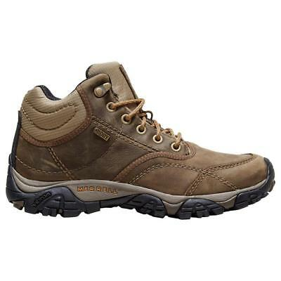 Merrell Mens Moab Rover Mid Waterproof Boot Walking Boots Brown