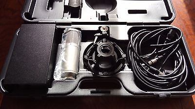 Rode K2 Valve Microphone with  Rode shockmount, case & power supply.