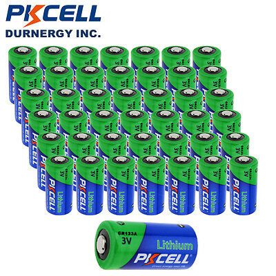 Wholesale 80pcs CR123A DL123A 123A Camera Phoho Batteries 3V Lithium PKCELL