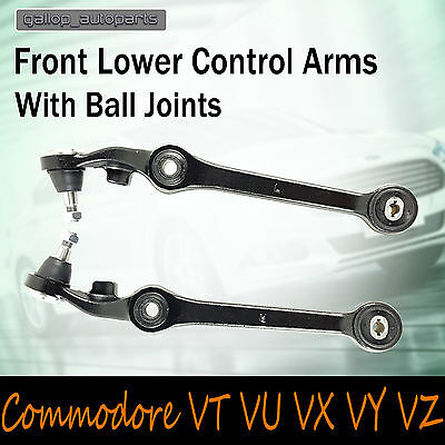 Holden Commodore VT VU VX VY VZ Front Lower Control Arms Pair LH RH 09/97-07/06