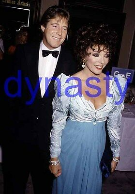 DYNASTY #12549,JOAN COLLINS,candid photo,THE COLBYS