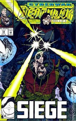Deathlok (1991 1st Series) #19 VG LOW GRADE