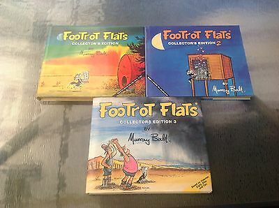 Footrot Flats Collectors Edition 1 2 3 Murray Ball  Books Dust Jackets Near Mint