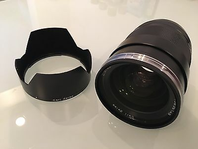 ZEISS Distagon T 35mm f/1.4 ZE Lens For Canon