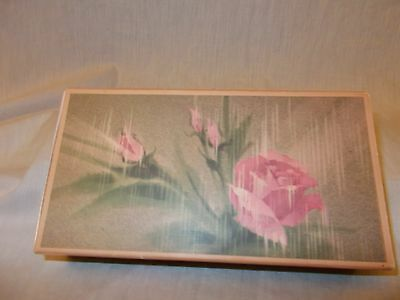 Vintage Avon Touch of Roses Set of 3 Perfumed Soaps in Original Box
