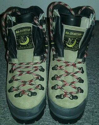 La Sportiva mountaineering, hiking,  climbing boots with Vibram sole - brand new