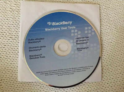 2006 blackberry user tools cd-rom software disc