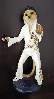 Meerkat Elvy Elvis Magnificent Meerkats Country Artists Figurine CA04240