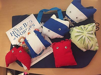 Story Sack - Huge Bag of Worries with book and 6 x 'worries' Early years