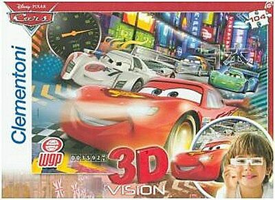 Cars 2 - The fastest Crew, 3D Puzzle