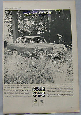1960 Austin A55 Original advert