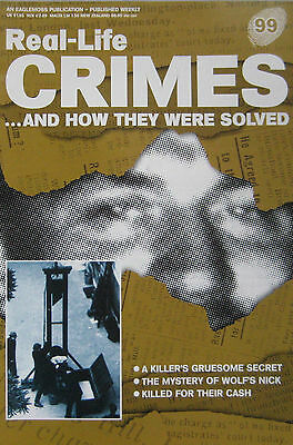 Real-Life Crimes Issue 99 - Ian Simms, Evelyn Foster, Eugen Weidmann
