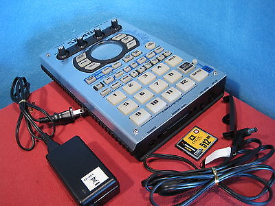 Roland SP-404 Sampler Good condition w/ Power 100-240V & 512MB Memory Card Used