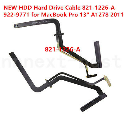 """NEW HDD HARD DRIVE CABLE For Apple MacBook Pro 13"""" A1278 Early/Late 2011 MD314"""
