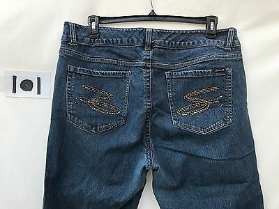 909dfb9d4c8 Women s 7 Seven Regular Boot Cut Premium Hi Rise Stretch Jeans Pants 38 x 22