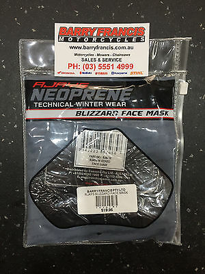 Rjays Neoprene Blazzard Face Mask. One Size Fits Most