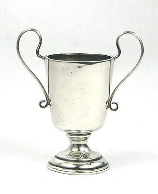 Vintage Sterling Silver Trophy Cup Blank Not Engraved Chester 1930 26 g