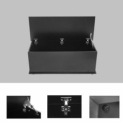 Storage Wood Chest XL Childrens Toy Box Room Blanket Box Bedroom Furniture Black