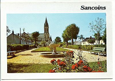 CP 18 CHER - Sancoins - La place de l'Eglise