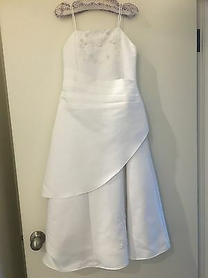 Girls Graduation/ Holy Communion/ Flower Girl/ Birthday Dress- size 8