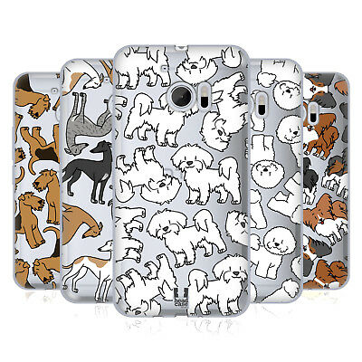 Head Case Designs Dog Breed Patterns 4 Soft Gel Case For Htc Phones 1