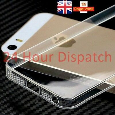 New Ultra Thin Silicone Gel Soft TPU Clear Case For iPhone 6 6s {Px223