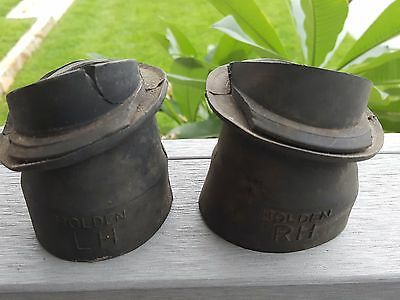 Holden Ej Eh Pair Of Genuine Heater Demister Vents Ducts Cups Nasco