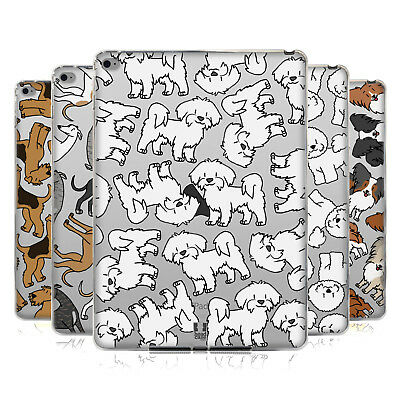 Head Case Designs Dog Breed Patterns 4 Soft Gel Case For Apple Samsung Tablets