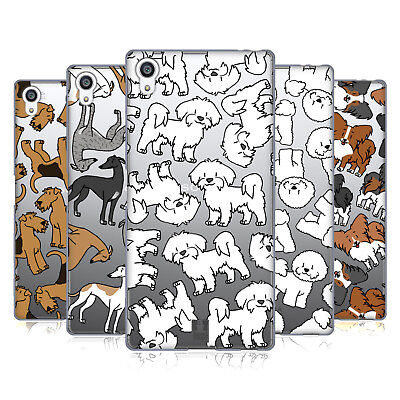 Head Case Designs Dog Breed Patterns 4 Soft Gel Case For Sony Phones 2