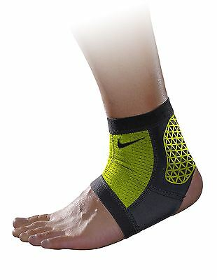 Nike Pro Combat Ankle Sleeve - Ankle support- Atomic Green