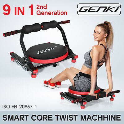 Smart Core Machine Wonder Body Exercise System Ab Workout Fitness Train Home Gym
