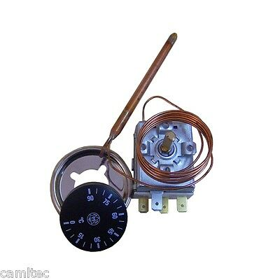 Imit adjustable thermostat TR 0/90º Type TR2 9325 with button
