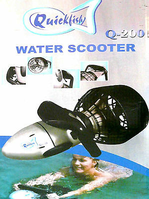 Aquascooter  Waterscooter Tauch scooter  Wasser Divingscooter Quicfish