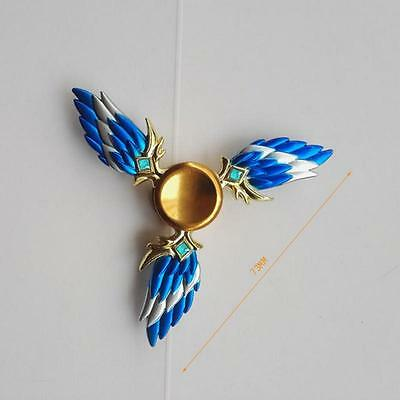 Angel Wings Hand Finger Spinner Fidget Metal Bearing ADHD Focus Reliever Toy